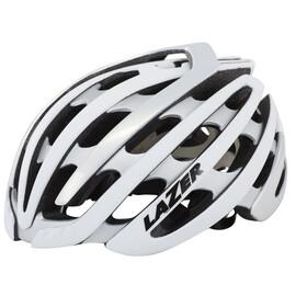 Lazer Z1 Helm weiß/silber